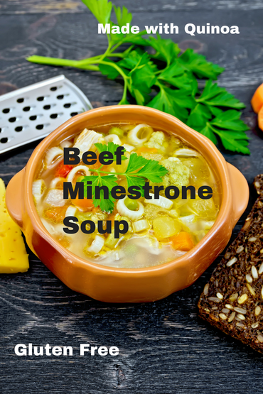 Beef Minestrone Soup Picture