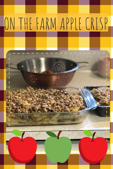 ON THE FARM APPLE CRISP