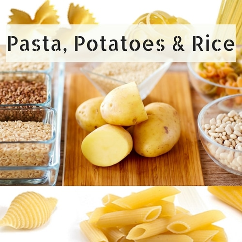 Pasta Potatoes & Rice Picture